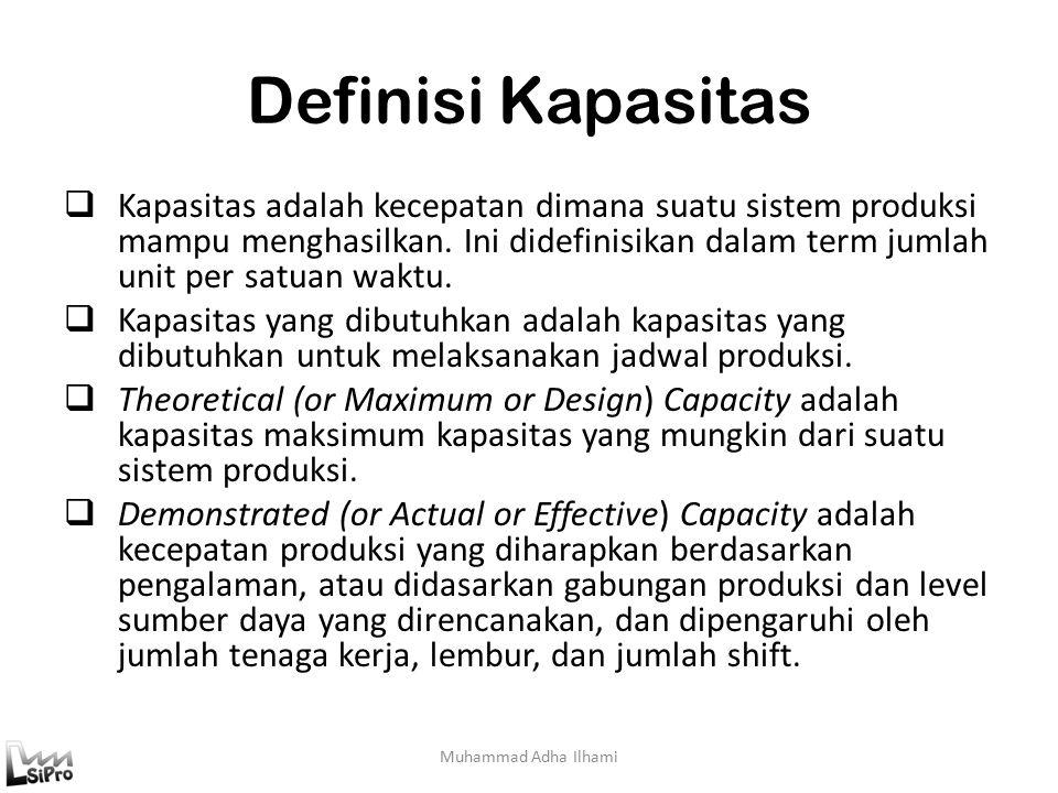 Logika dan Mekanisme CRP Muhammad Adha Ilhami Proses MRP dilakukan dengan 5 tahap utama yaitu:  Menentukan kapasitas work center: identifikasi dan menentukan work center, menghitung kapasitas work center.