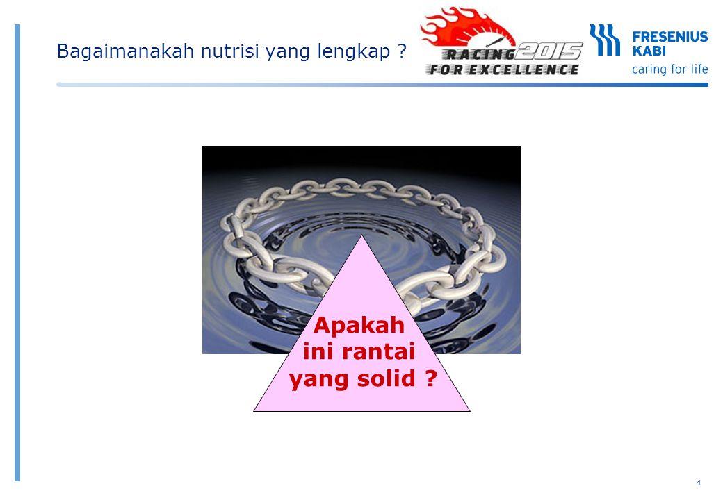 4 This is a solid chain Apakah ini rantai yang solid ? Bagaimanakah nutrisi yang lengkap ?