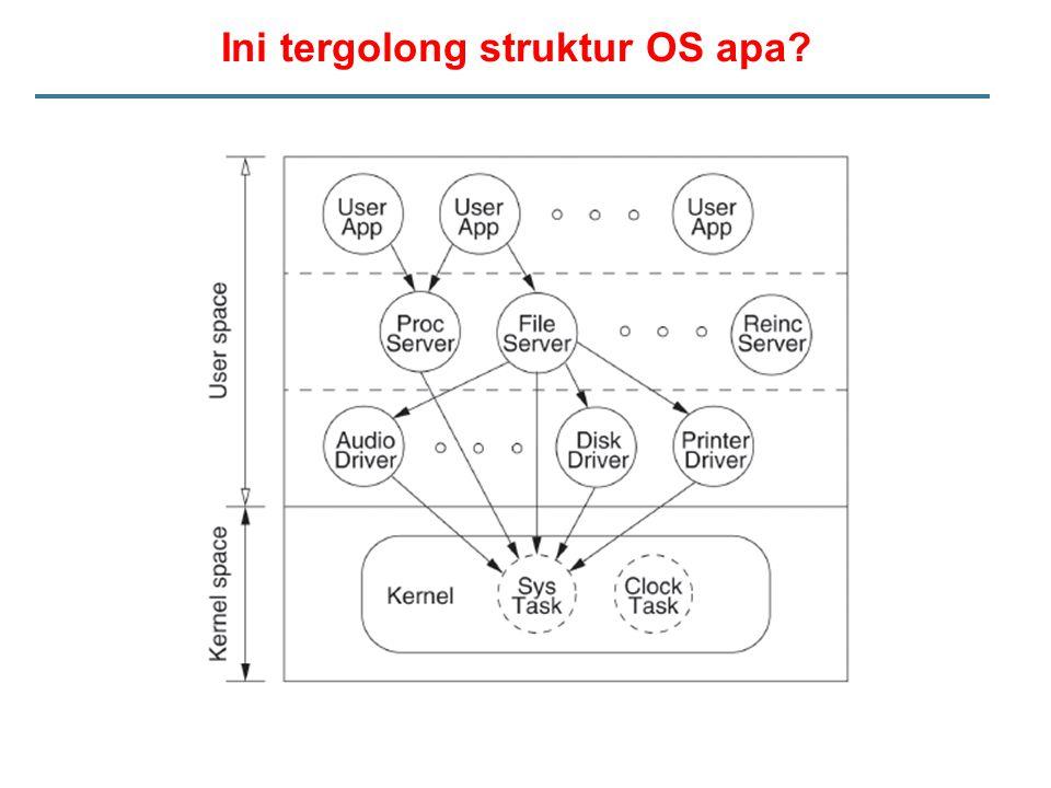 Ini tergolong struktur OS apa?