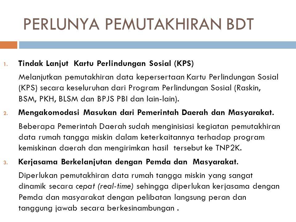 PERLUNYA PEMUTAKHIRAN BDT 1.