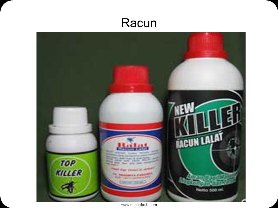 www.rumahfiqih.com Racun