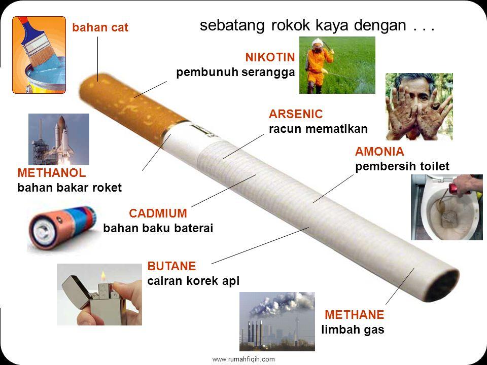 www.rumahfiqih.com sebatang rokok kaya dengan...