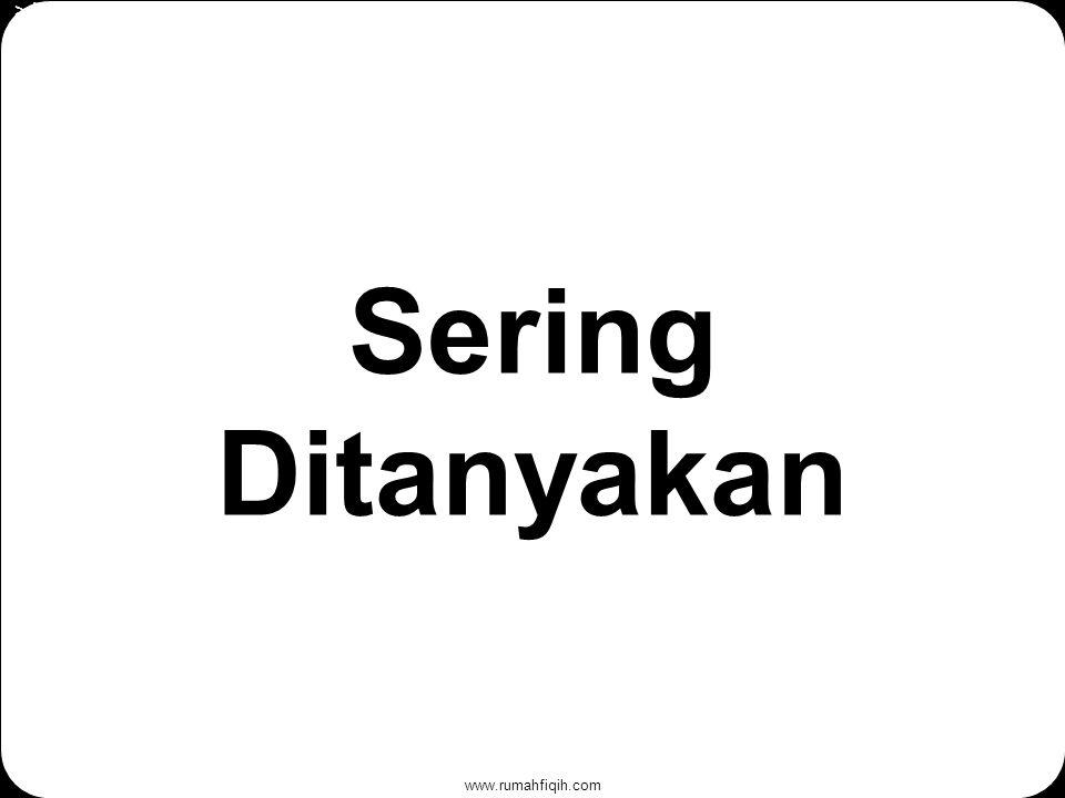 www.rumahfiqih.com Sering Ditanyakan > Hewani