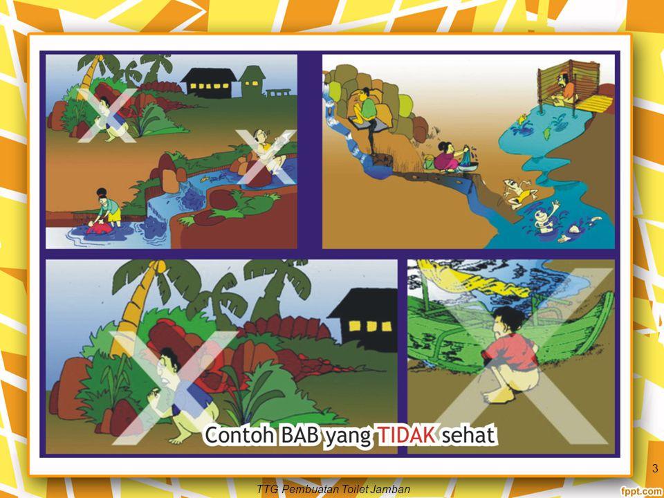 Jamban Sehat Jamban Sehat secara prinsip harus mampu memutuskan hubungan antara tinja dan lingkungan.