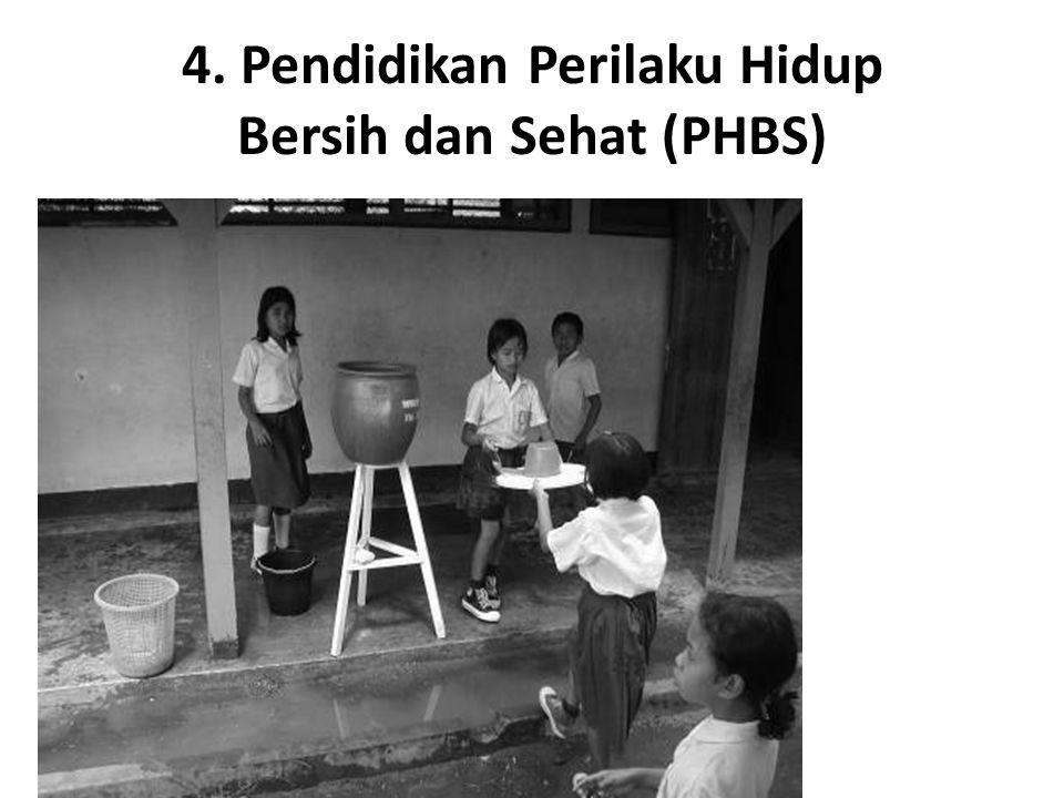 4. Pendidikan Perilaku Hidup Bersih dan Sehat (PHBS)