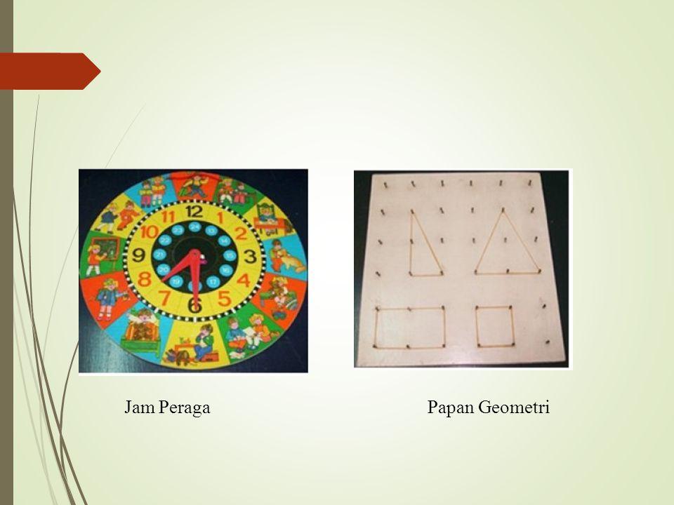 Jam PeragaPapan Geometri