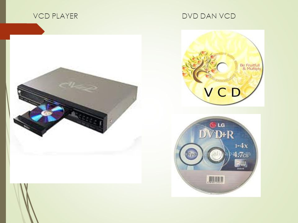 VCD PLAYERDVD DAN VCD