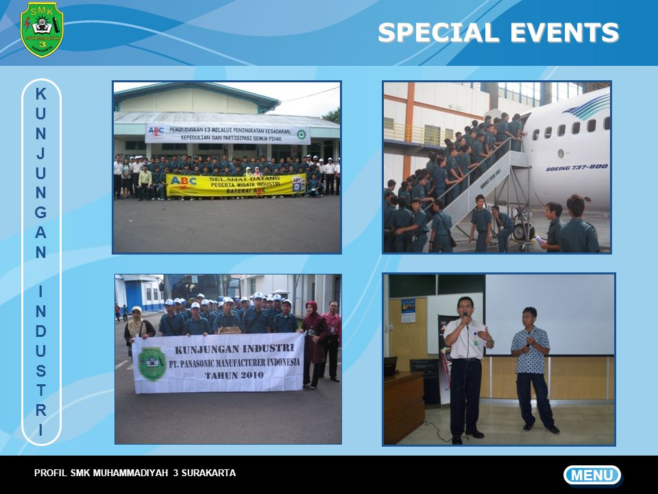 SPECIAL EVENTS KUNJUNGANINDUSTRIKUNJUNGANINDUSTRI MENU PROFIL SMK MUHAMMADIYAH 3 SURAKARTA