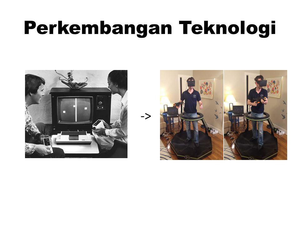 Perkembangan Teknologi ->
