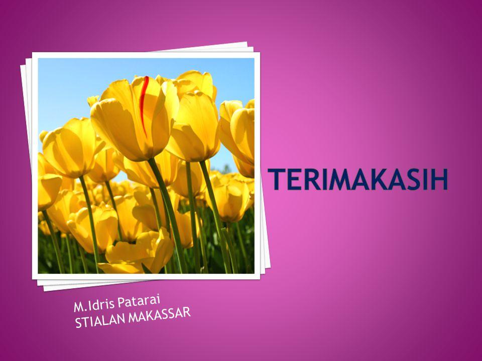 M.Idris Patarai STIALAN MAKASSAR