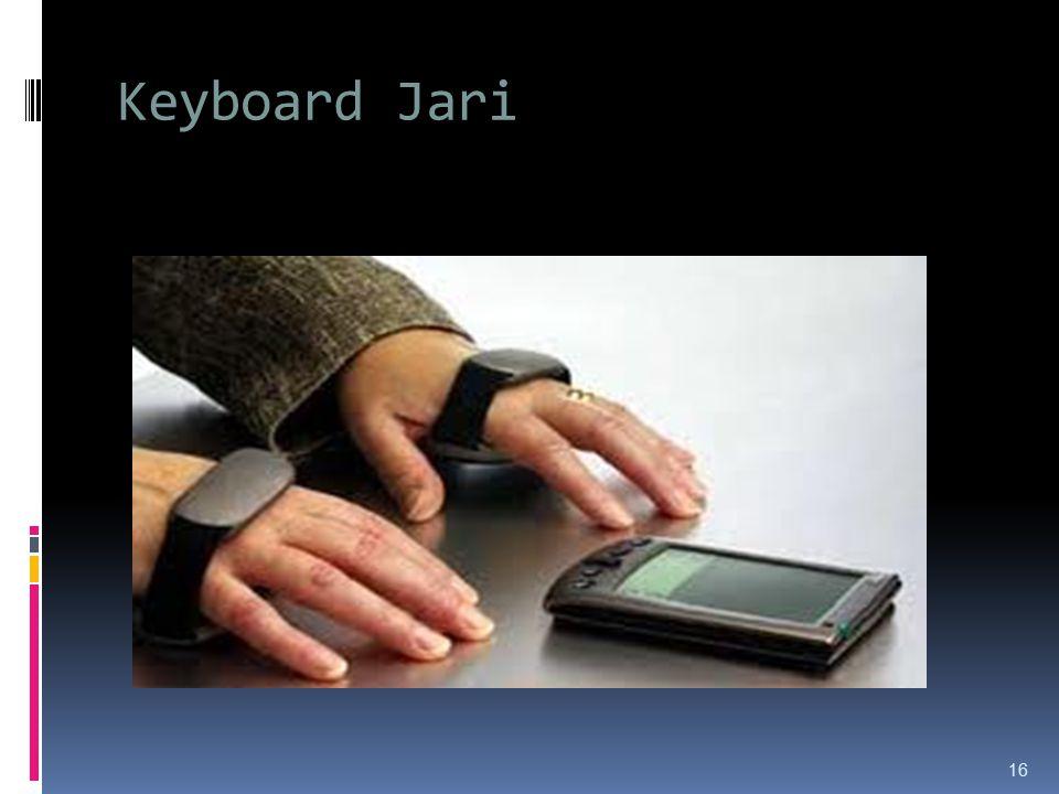 Keyboard Jari 16