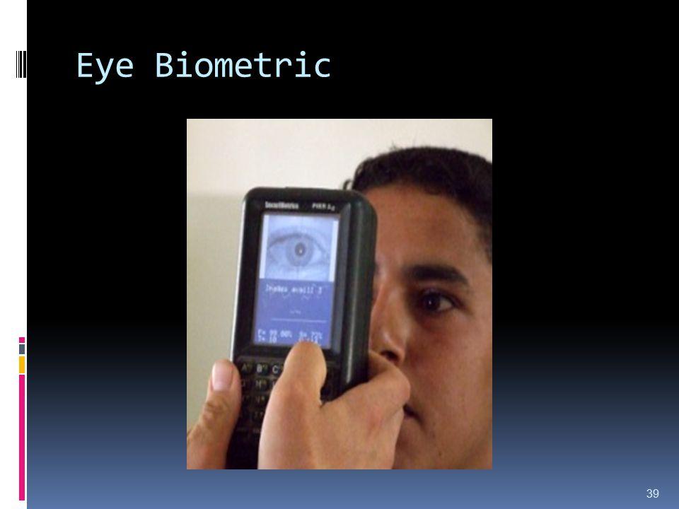 Eye Biometric 39
