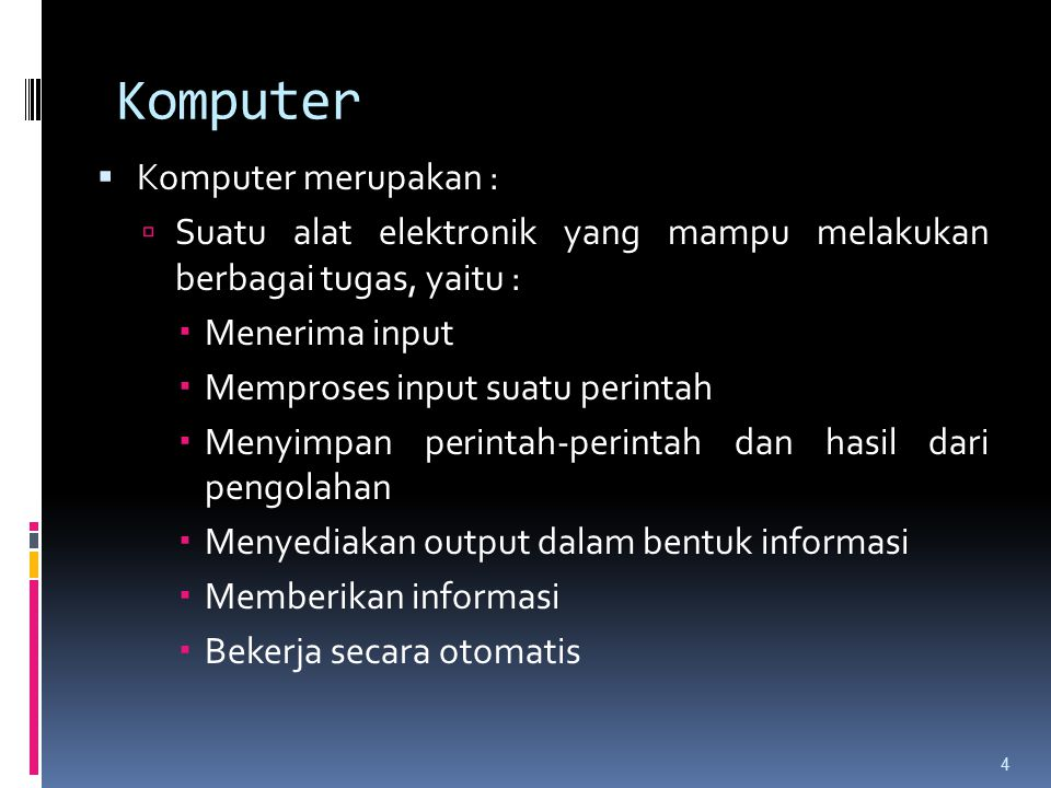 Tipe memori  Register  Chace memory  Disk chace  Magnetic disk  Magnetic tape  Optical disk 65