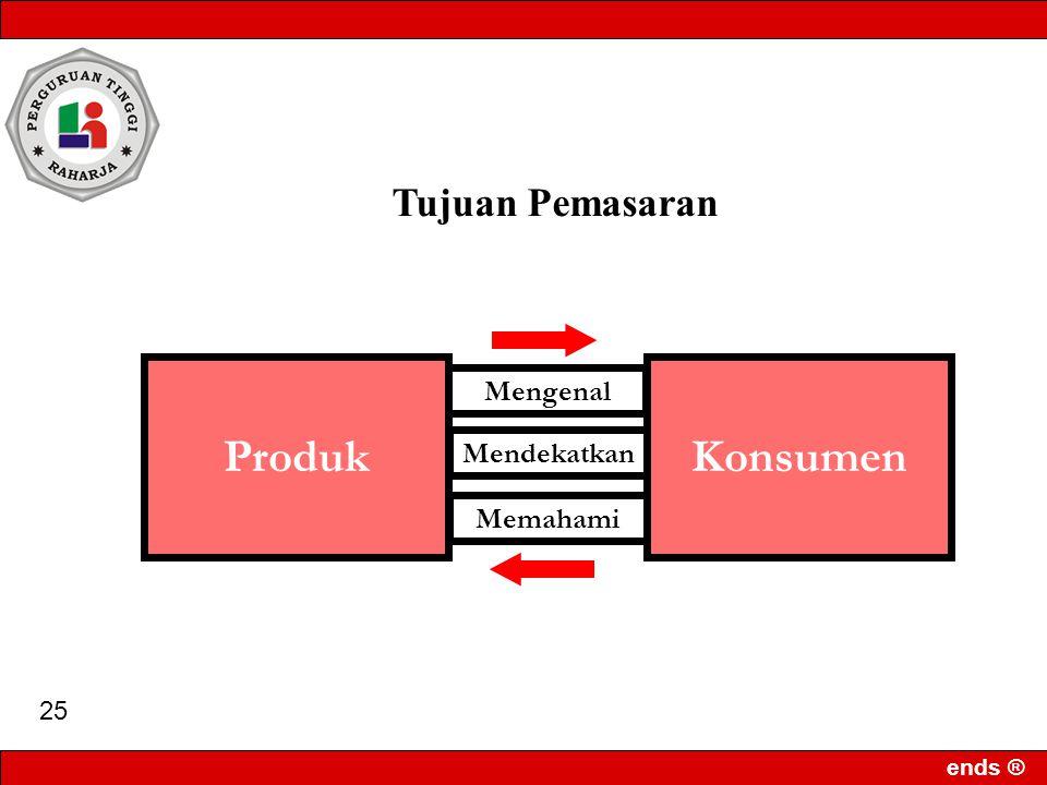 ends ® 24 Tujuan Pemasaran