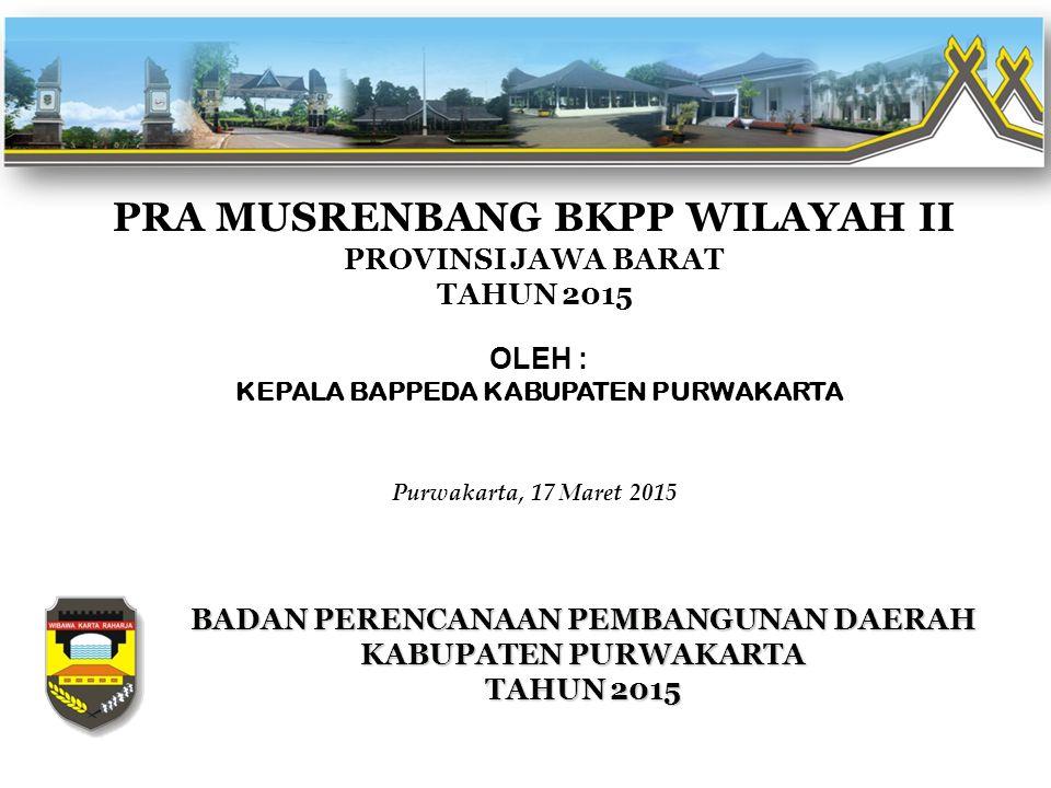 PROGRAM DAN KEGIATAN PRIORITAS SEKTORAL BIDANG EKONOMI Dinas Pertanian, Kehutanan dan Perkebunan : NoProgram/KegiatanSasaranVolume Lokasi (Kec, Desa/Kel) Biaya (Rp)Ket (1)(2)(3)(4)(5)(6)(7) 1Program Peningkatan Produksi Pertanian : 1Pengembangan Budidaya Padi Sawah Berbasis Rintisan Budidaya Organik Meningkatnya Pertanian Yang Ramah Lingkungan 40 HaPurwakarta 150,000,000 Bidang Pertanian 2Pengembangan Tanaman Manggis dan Durian Terlaksananya Pengembangan Komoditas Strategis dan Unggulan 7.500 PohonPurwakarta 500,000,000 Bidang Pertanian 3Rehabilitasi Tanaman TehTerlaksananya Penanaman Bibit Teh 40.000 BatangPurwakarta 500,000,000 Bidang Pertanian 4Rehabilitasi Tanaman CengkehTerlaksananya Penanaman Bibit Cengkeh 3.000 BatangPurwakarta 300,000,000 Bidang Pertanian 5Pengembangan Tanaman PalaTerlaksananya Penanaman Bibit Pala 3.000 BatangPurwakarta 400,000,000 Bidang Pertanian 6Perluasan Areal Perkebunan PalaTerlaksananya Penanaman Pala 300 HaPurwakarta - Bidang Pertanian 7Peningkatan Produksi dan Produktivitas Tanaman Rempah dan Penyegar (Cengkeh) Terlaksananya Penanaman Cengkeh Untuk Rehabilitasi 300 HaPurwakarta - Bidang Pertanian 8Peningkatan Produksi dan Produktivitas Tanaman Rempah dan Penyegar (Teh) Terlaksananya Penanaman Teh Untuk Rehabilitasi 250 HaPurwakarta - Bidang Pertanian