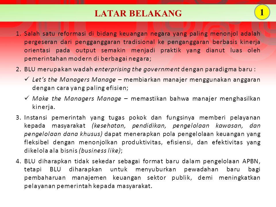 5.Amanat pasal 13 PMK 92/PMK.05/2011 tentang Rencana Bisnis dan Anggaran serta Pelaksanaan Anggaran Badan Layanan Umum.
