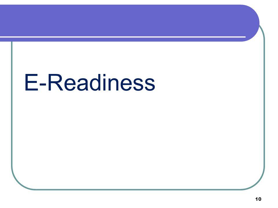 E-Readiness 10