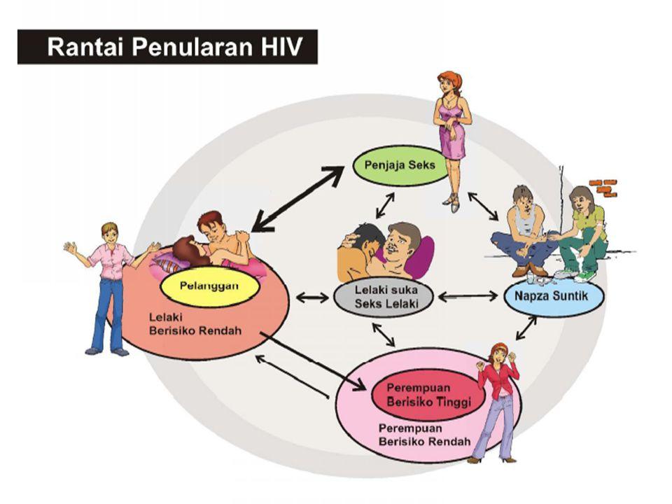Commission on AIDS in Asia – Projections and Implications 12 Kondisi Yang Mempercepat Penularan? PerempuanLaki-laki 39.210 Pria Pembeli Sex (2-20% dar
