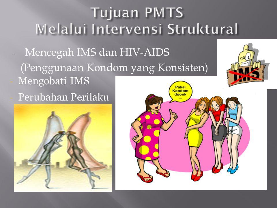 PE Pekerja Seks PE LBT PE GWL PE ODHA PE Penasun IMS, LJASS, VCT, CST Community Organizer Seluruh Pop. Kunci di Kab/Kota Kondom satu paket dg obat IMS