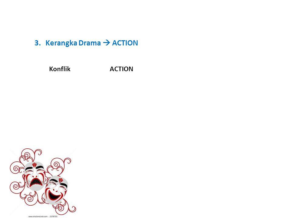 3.Kerangka Drama  ACTION KonflikACTION