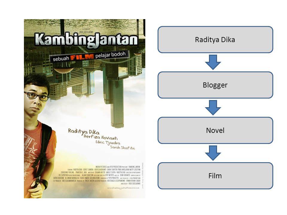 Raditya Dika Blogger Novel Film