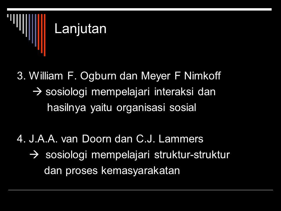 Lanjutan 3.William F.
