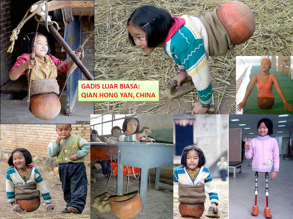 TERIMA KASIH GADIS LUAR BIASA: QIAN HONG YAN, CHINA