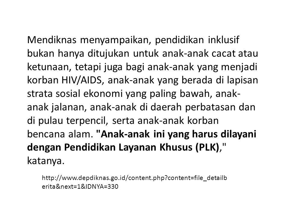 ADA SEKITAR 7-8% ANAK INDONESIA BERUSIA 7-12 TAHUN SETIAP TAHUNNYA YANG BELUM MENGENYAMPENDIDIKAN DASAR 9 TAHUN SIAPAKAH MEREKA?