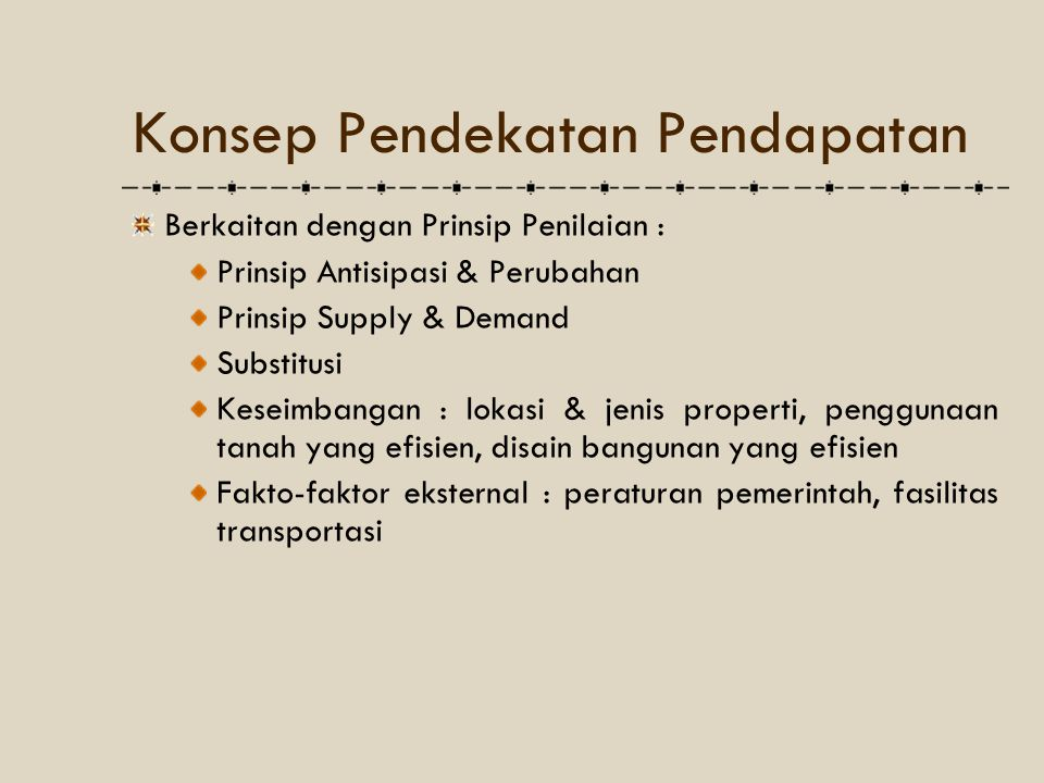 Sale Price = Potential Gross Income x Potential Gross Income Multiplier Potential Gross Income … atau mengalikannya dengan Potential Gross Income Multiplier Multiplier [pengali pendapatan kotor potensial].
