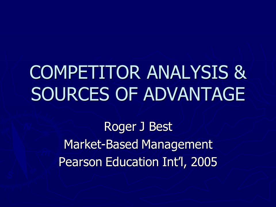 Marketing Advantage : ► Channel Advantage ► Sales Force Advantage ► Brand Awareness