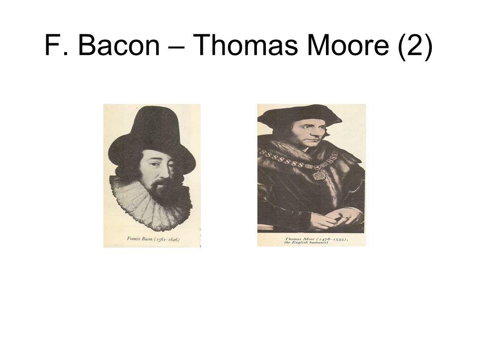 F. Bacon – Thomas Moore (2)