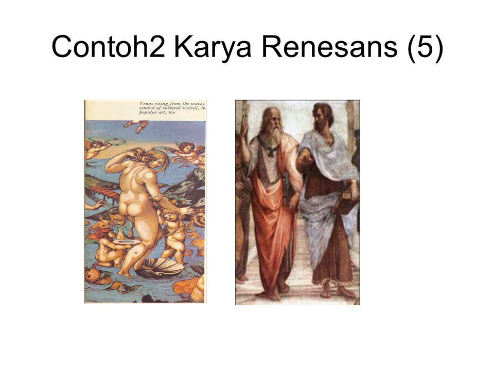 Contoh karya Renesans (6)