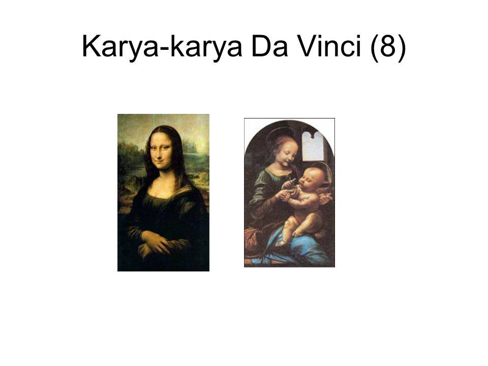 Karya-karya Da Vinci (8)