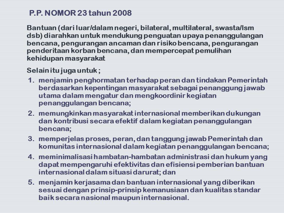1. menjamin penghormatan terhadap peran dan tindakan Pemerintah berdasarkan kepentingan masyarakat sebagai penanggung jawab utama dalam mengatur dan m