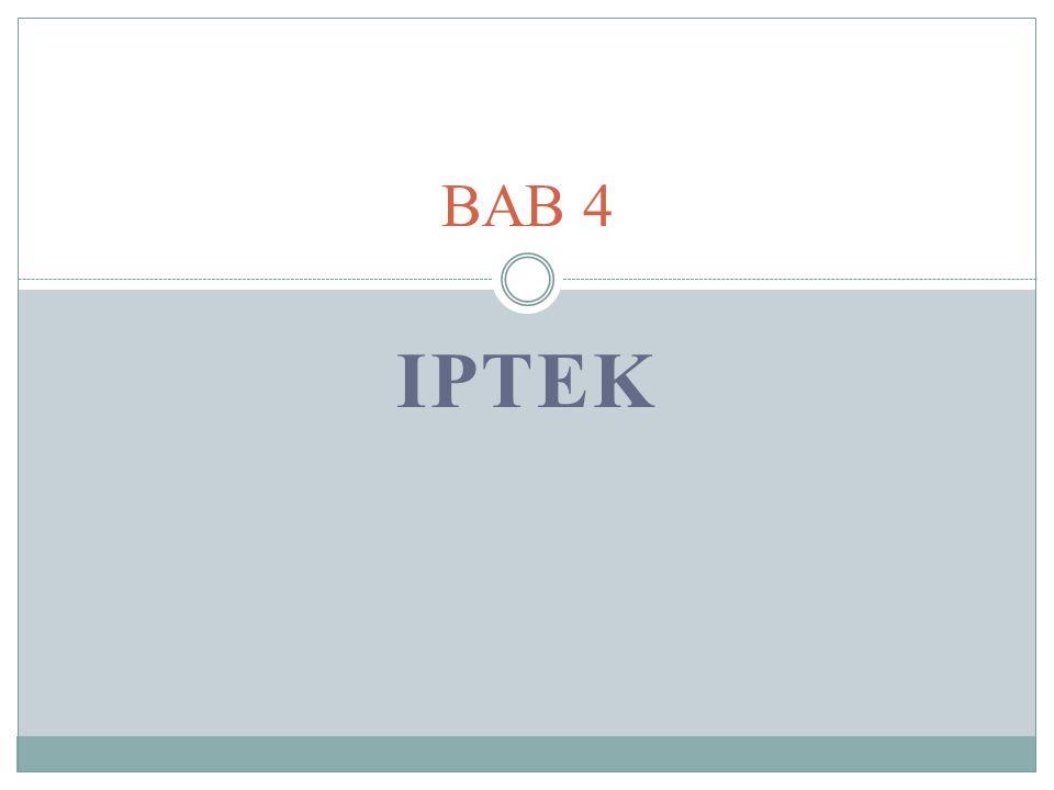 IPTEK BAB 4