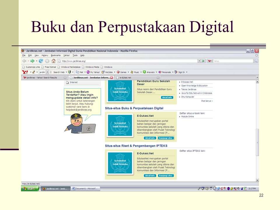 22 Buku dan Perpustakaan Digital