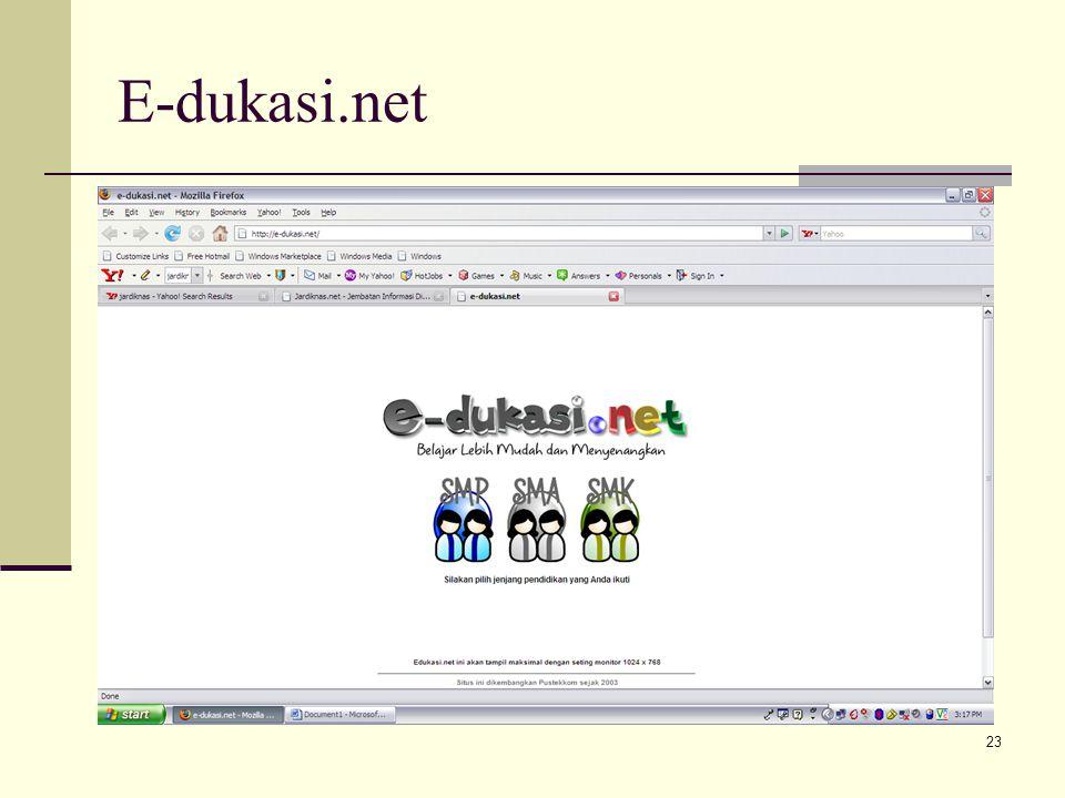 23 E-dukasi.net