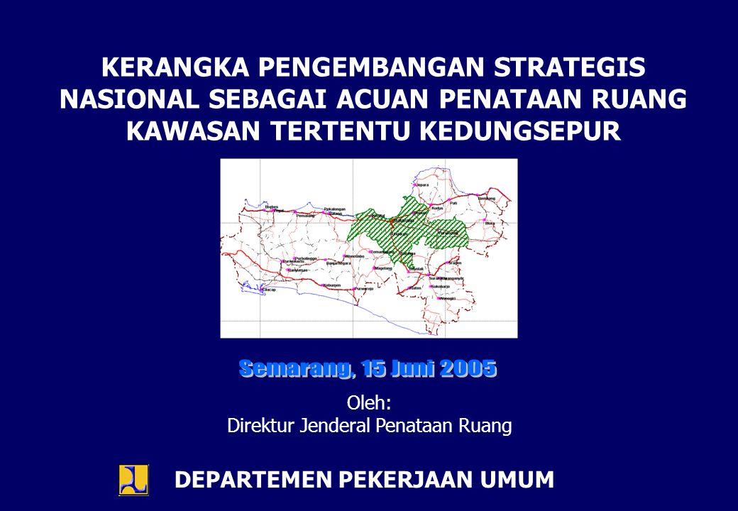 Kawasan Tertentu adalah kawasan yang ditetapkan secara nasional mempunyai nilai strategis yang penataan ruangnya diprioritaskan (pasal 1).
