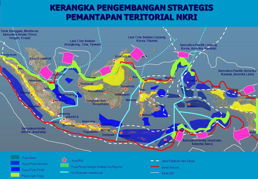  Kesenjangan pertumbuhan ekonomi di kawasan Kedungsepur antara Kota Semarang dengan Kota/ Kabupaten lainnya.