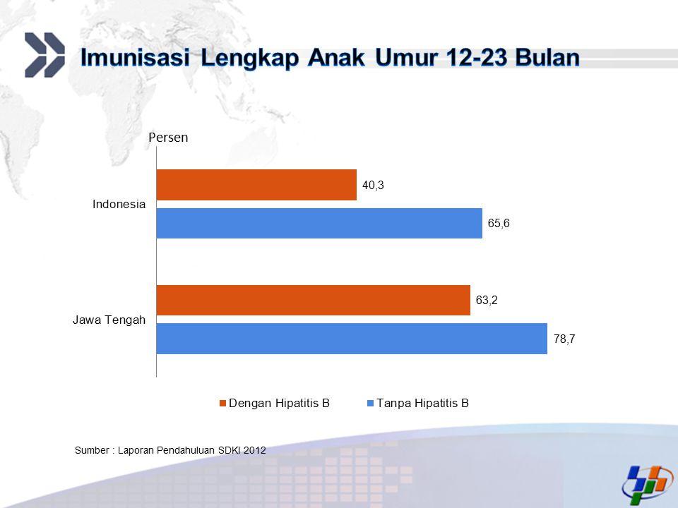 Add your company slogan LOGO Persen Sumber : Laporan Pendahuluan SDKI 2012