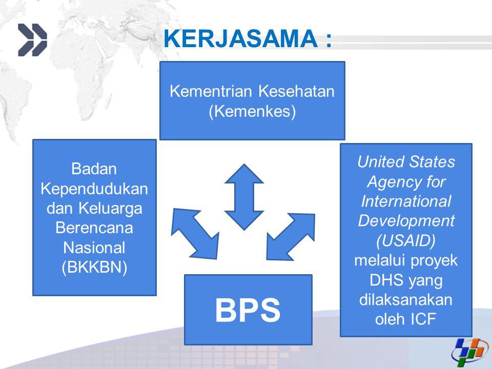 Add your company slogan LOGO KERJASAMA : Badan Kependudukan dan Keluarga Berencana Nasional (BKKBN) Kementrian Kesehatan (Kemenkes) United States Agen