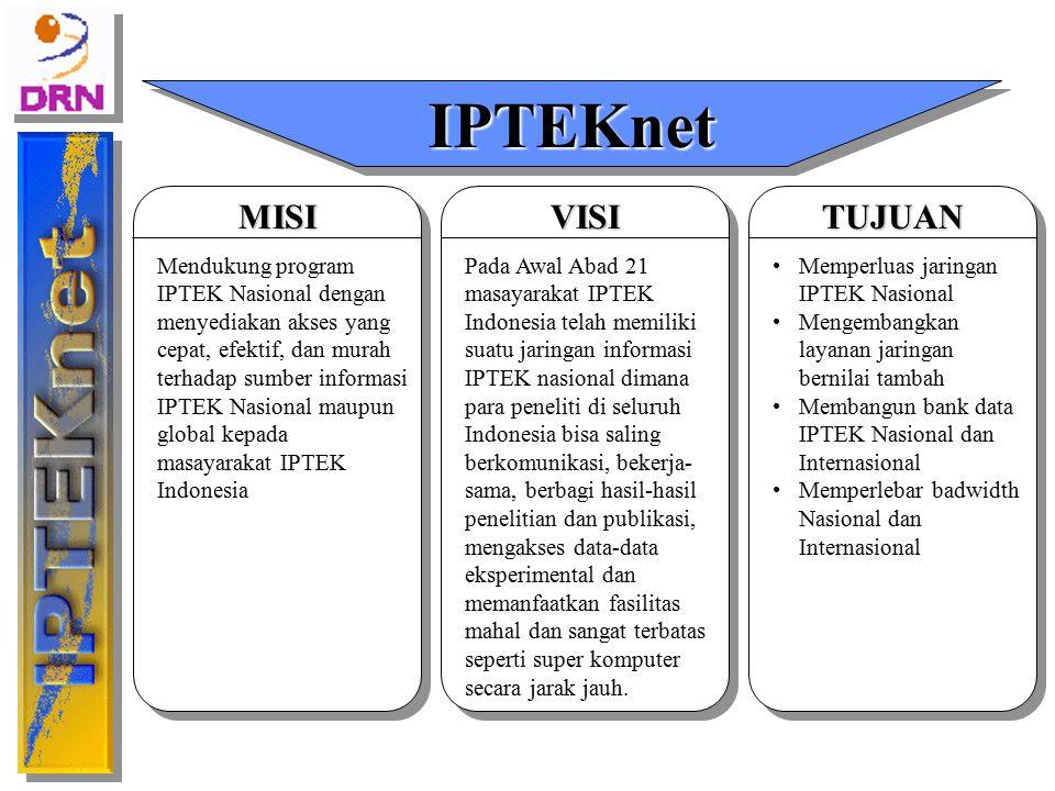 Pada Awal Abad 21 masayarakat IPTEK Indonesia telah memiliki suatu jaringan informasi IPTEK nasional dimana para peneliti di seluruh Indonesia bisa sa