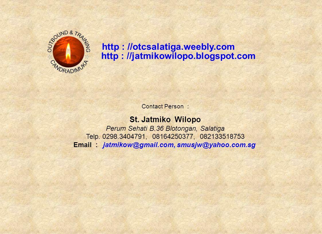 http : //otcsalatiga.weebly.com Contact Person : St.