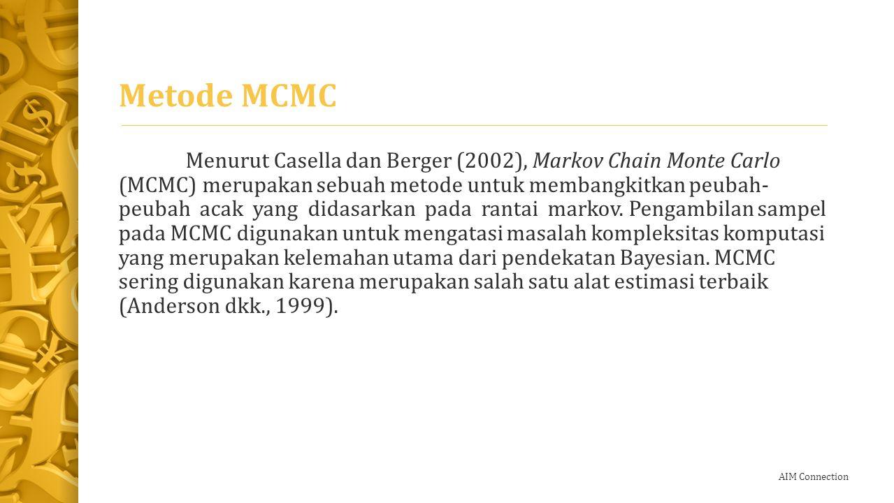 AIM Connection Langkah-langkah MCMC