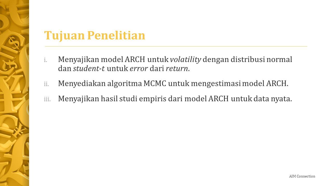 AIM Connection Batasan Masalah i.