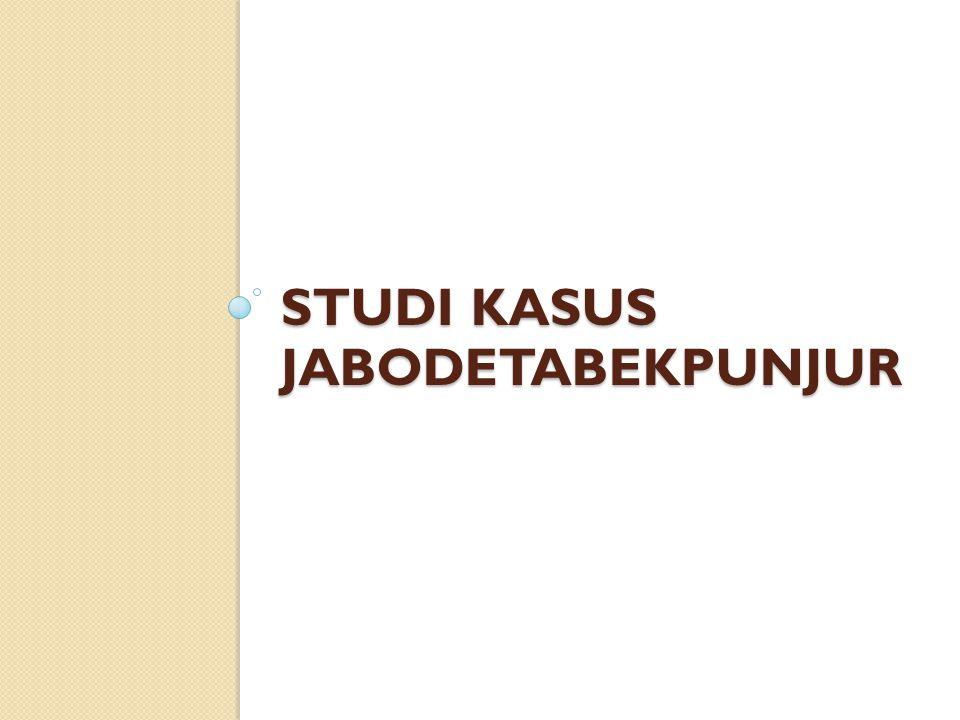 STUDI KASUS JABODETABEKPUNJUR