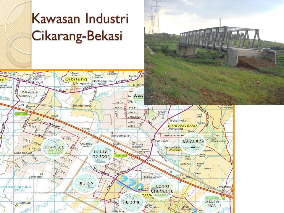 Kawasan Industri Cikarang-Bekasi JABABEKAI MM 2100 E J I P B I I E JABABEKAII DELTASILICON LIPPOCIKARANG DELTAMAS