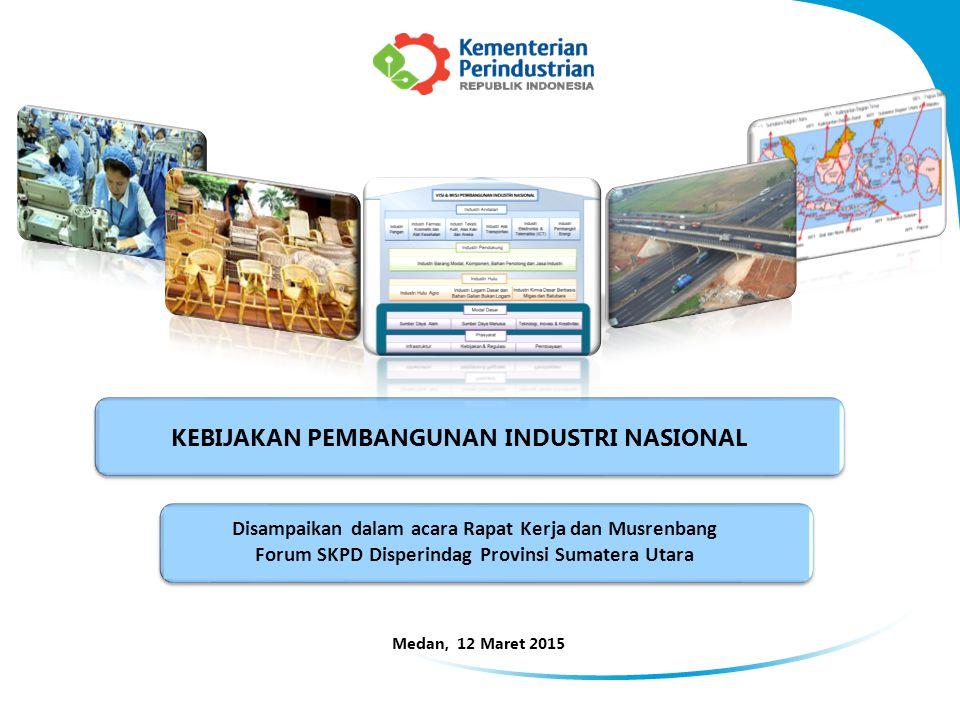 22 1)Pengembangan Perwilayahan Industri di luar pulau Jawa, dengan strategi meliputi : a.Fasilitasi pembangunan 14 Kawasan Industri (KI), b.Membangun 22 Sentra Industri Kecil dan Menengah (SIKIM) yang terdiri dari 11 di Kawasan Timur Indonesia dan 11 di Kawasan Barat Indonesia, dan c.Berkoordinasi dengan para pemangku kepentingan dalam membangun infrastruktur utama (jalan, listrik, air bersih, telekomunikasi, pengolah limbah, dan logistik), infrastruktur pendukung tumbuhnya industri, dan sarana pendukung kualitas kehidupan (Quality Working Life) bagi pekerja.