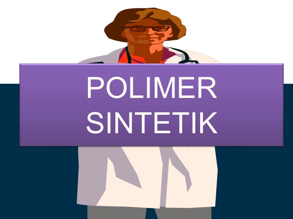 Polimer adalah molekul besar (makromolekul) yang terbangun oleh susunan unit ulangan kimia yang kecil, sederhana dan terikat oleh ikatan kovalen.