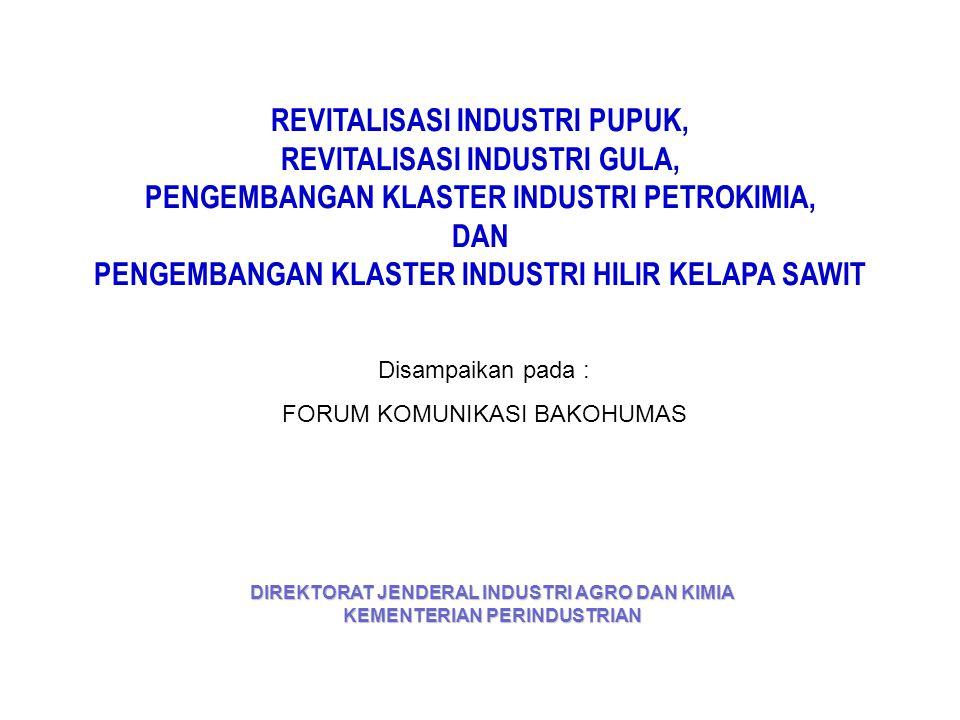 2. Pohon Industri Petrokimia Berbasis Migas dan Kondensat
